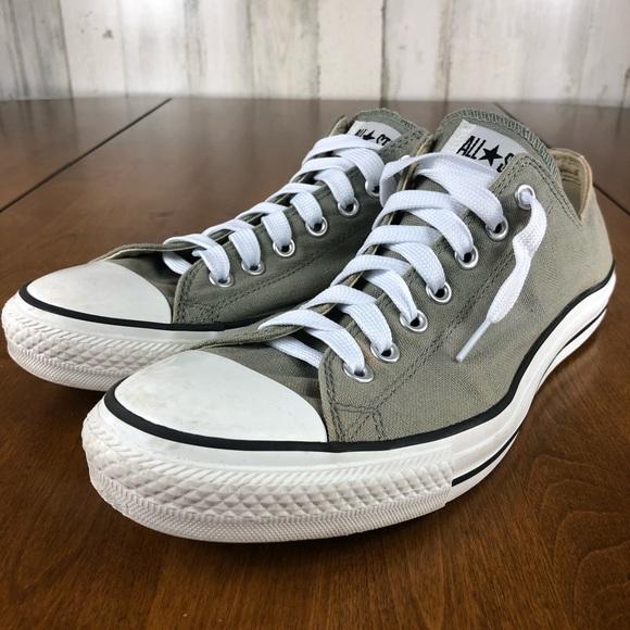 Converse Men's Gray Low Top Sneakers sz 11.5